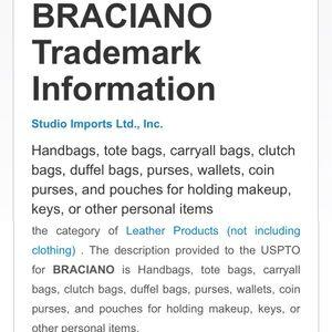 Braciano Bags - 👜BRACIANO 🍍Satchel EUC👜